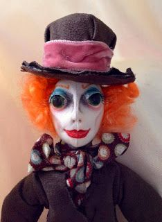 Mad Hatter WIP by Amy @ Pixie-Crafts Art Dolls