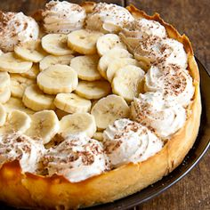 Banana Cream Pie ~ uses 5 large bananas. Substitute the tennis biscuits for graham crackers and the corn flour for cornstarch for the American version.