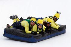 Anchorage Fur Rondy bed races. www.40BelowINK.com    photo:http://www.ktva.com/photo-gallery-great-alaskan-bed-races-2014/