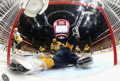 June 5, 2017 at Nashville (Round 4, Game 4): Sidney Crosby scored the lone goal for Pittsburgh as the Predators even the series. Final Score, 4-1 Predators.
