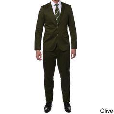 Zonettie by Ferrecci Men's Slim Fit 2-piece Suit
