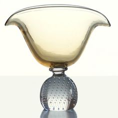 Erickson Art Glass Fan-Shaped Bowl - c1944 | Collectors Weekly