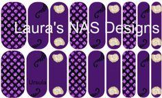 Ursula  #Jamberry #NailArtStudio #Nailart
