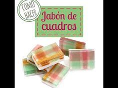 Hacer Jabón de cuadros|Hacer jabón
