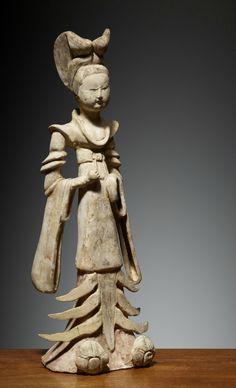 Dame, Chine, Dynastie des Tang (618 – 907), fin du 7° siècle-début du 8° siècle