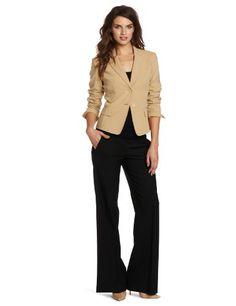 Jones New York Womens Two Button Jacket, Macadamia, 16 coupon| gamesinfomation.com