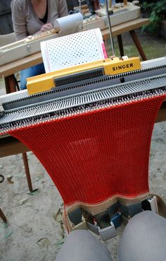 One day, when I have room I will get a knitting machine...