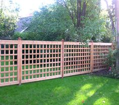 lattice privacy fence designs Car Tuning