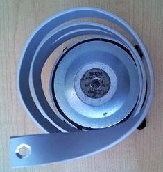 Staffa a spirale a risonanza subsonica (realizzata a mano libera) Loudspeaker, Garden Hose, Transformers, Robin, Audio, Speakers, European Robin, Robins