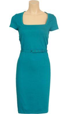 Square dress Vis lycra