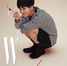 G-Dragon - W Magazine May Issue '17 - Korean photoshoots