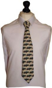 Riley 9 Cotton Car Tie