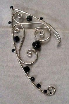 Handmade Wire Jewelry, Funky Jewelry, Ear Jewelry, Cute Jewelry, Jewelry Crafts, Beaded Jewelry, Jewelry Accessories, Jewelry Design, Jewelry Making