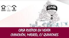 Casa en venta en Chinchón, Madrid  MAS INFORMACION : http://rem.ax/1zY7Tv7