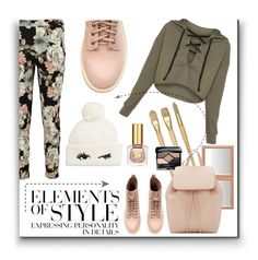 """""""Elements of Style"""" by melody-renfro-goldsberry ❤ liked on Polyvore featuring Boohoo, Kate Spade, Christian Dior, Mansur Gavriel, Vera Wang and Estée Lauder"""