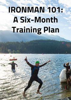 IRONMAN 101: A Six-Month Training Plan  | Triathlon | | Triathlon training | | Triathlon motivation | #Triathlon #Triathlontraining   https://www.ninjaguide.com/