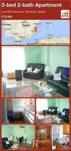 3-bed 2-bath Apartment in Los Montesinos, Alicante, Spain ►€79,995 #PropertyForSaleInSpain