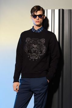 competitive price 2908f f9ea3 Sweat-shirt Tiger Ton sur Ton Kenzo - Sweat-shirts   Pulls Kenzo Homme