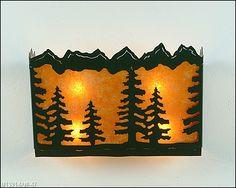 Teton Sconce 16 Inch - Spruce Tree