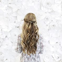 Boho Waves from @thedrybar & 3D Florals shooting with @nordstromvan today  #AFLAHair