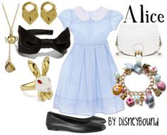 Disney styles: Alice Not a huge fan of the dress but everything else I love