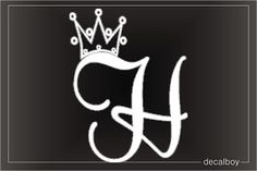 letter h and j tattoo - Google Search
