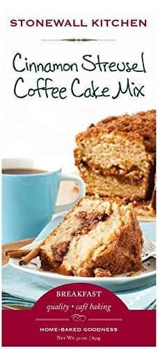 Stonewall Kitchen Cinnamon Streusel Coffee Cake Mix 30 Ounce * To view further for this item, visit the image link.