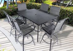 Pebble Lane Living is a premiere online patio furniture and outdoor living company selling direct from the manufacturer to provide high quality products at amazing prices. Patio Bar Table, Outdoor Patio Bar Sets, Patio Dining, Dining Set, Outdoor Tables, Outdoor Living, Outdoor Furniture Sets, Outdoor Decor, Bar Stool Seats