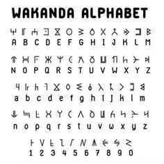 History Discover Seduced by the New.: World of Wakanda: Alphabet Alphabet Code Alphabet Symbols Sign Language Alphabet Glyphs Symbols Tattoo Alphabet Script Alphabet Alphabet Art The Words Different Alphabets