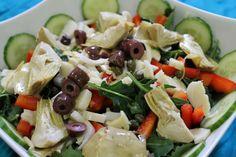 Antipasti Salad recipe from my fabulous niece...