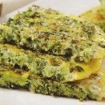 Receita de fritada de brócolis