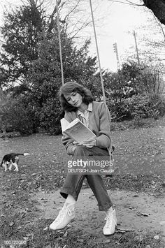 Charlotte Rampling and her dog