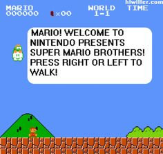 If Super Mario were made in 2010...
