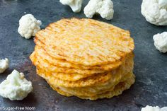 "Fill these amazing grain free, low carb tortillas with your favorite fillings and toppings!    <a href=""http://www.sugarfreemom.com/recipes/low-carb-baked-cauliflower-tortillas-gluten-free/"" target=""_blank"">Get the recipe!</a>"