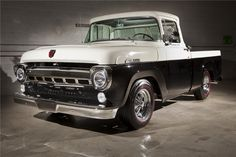 1957 FORD F-100. Thinking I need an old truck. Why not? No more commuting. Think it's justified.