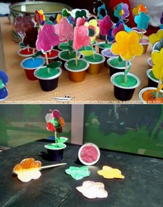macetas con capsulas de cafe Kids Crafts, Spring Crafts For Kids, Preschool Crafts, Art For Kids, Arts And Crafts, Nursery Activities, Preschool Activities, Diy Niños Manualidades, Theme Nature