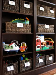 Kid Approved Toy Storage   Love That They Are In Baskets (u0026 The Color Of  Everything)