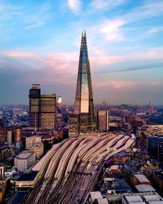 The Shard Building and London Bridge Train Station Near Bermondsey South East London England in 2018 The Shard London, London View, London Bridge, England Uk, London England, Visit Uk, Beautiful London, London Today, London Pictures