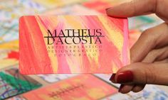 visual arts, design and photography studio business cards