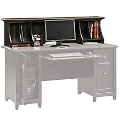 Sauder Appleton Faux Marble Top Executive Desk 30 2332 H X