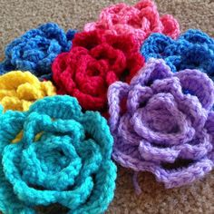 Babouska Rose No. 2 ~ free pattern ᛡ