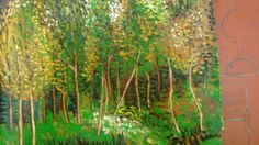 -Óleo sobre lienzo, estudiando a los maestros, por Javier Vega Regueiro.