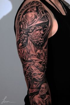 history tattoo sleeve - Google Search