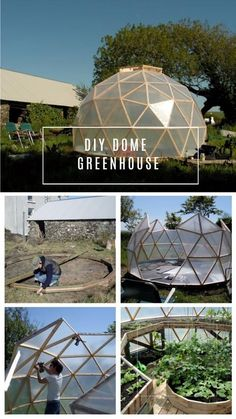 If you have a small space for a greenhouse and want to maximize your growing space, you may want to consider a geodesic dome as it gives you a great space for vertical growing while you use only a small surface space. They are not only aesthetically appealing, but there are more reasons as well …