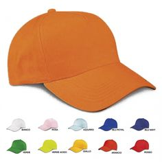 Cappellino berretto per bambini piccoli o grandi ideale per le uscite scolastiche e i campi estivi. È possibile personalizzare con logo della scuola o nome dei bambini.