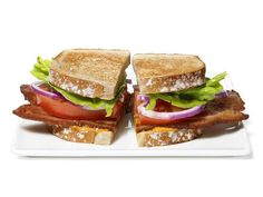 Get BLTs With Blue Cheese-Buffalo Aioli Recipe from Food Network