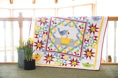 Welcome to our tea party! Today our theme is about designing a quilt with a…