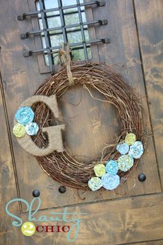 I am making this tomorrow...everything came from hobby lobby
