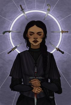 "nouketou: ""The Wraith Inej Ghafa, one of my favorite female characters ever ""Protect me, protect me. She had to believe her Saints saw and understood the things she did to survive."" Inej belongs to..."
