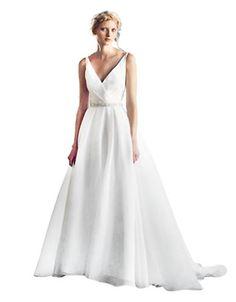 Brands | Wedding Gowns | Rhoda V Neck Gown | Hudson's Bay Hudson Bay, Wedding Gowns, V Neck, Bridal, Formal Dresses, Fashion, Wedding Gowns With Sleeves, Dress Ideas, Fashion Ideas